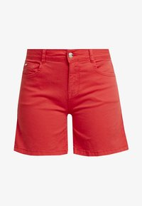 Cortefiel - BASIC - Shorts vaqueros - red - 4