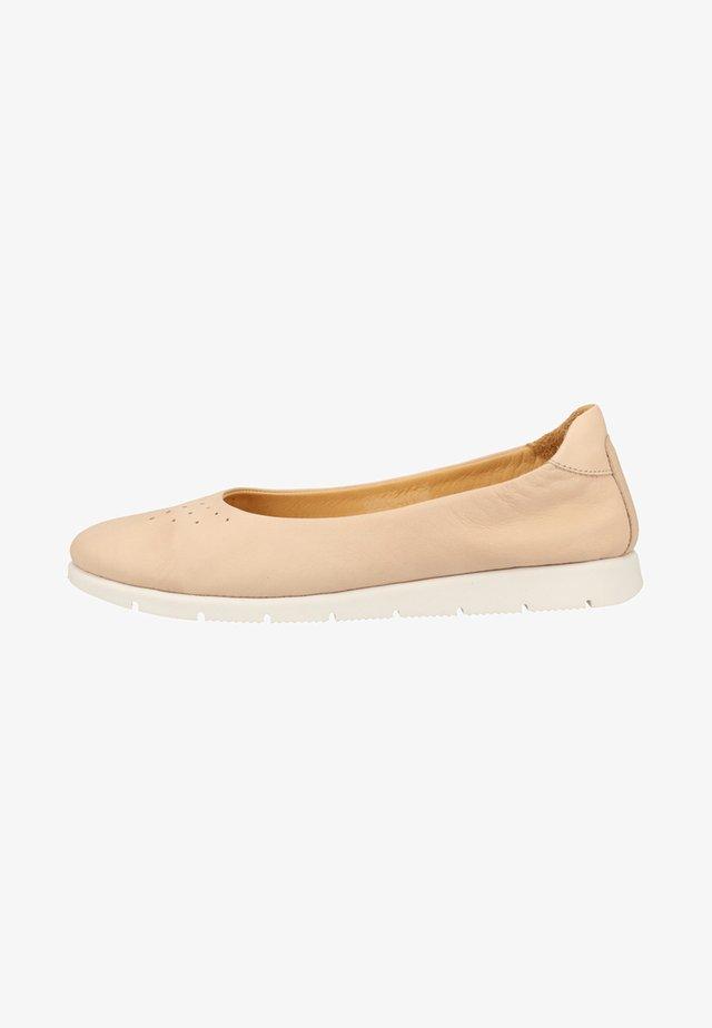 DARKWOOD BALLERINAS - Ballet pumps - Nude