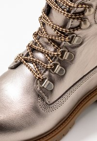 Darkwood - Lace-up ankle boots - dark metal - 2