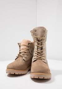 Darkwood - Lace-up ankle boots - beige - 7