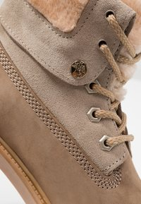 Darkwood - Lace-up ankle boots - beige - 2