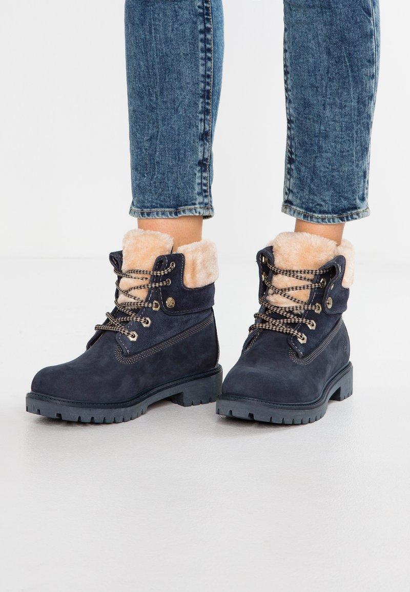 Darkwood - Snørestøvletter - blue