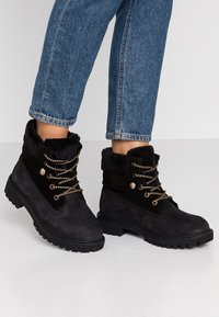 Darkwood - Lace-up ankle boots - black - 0