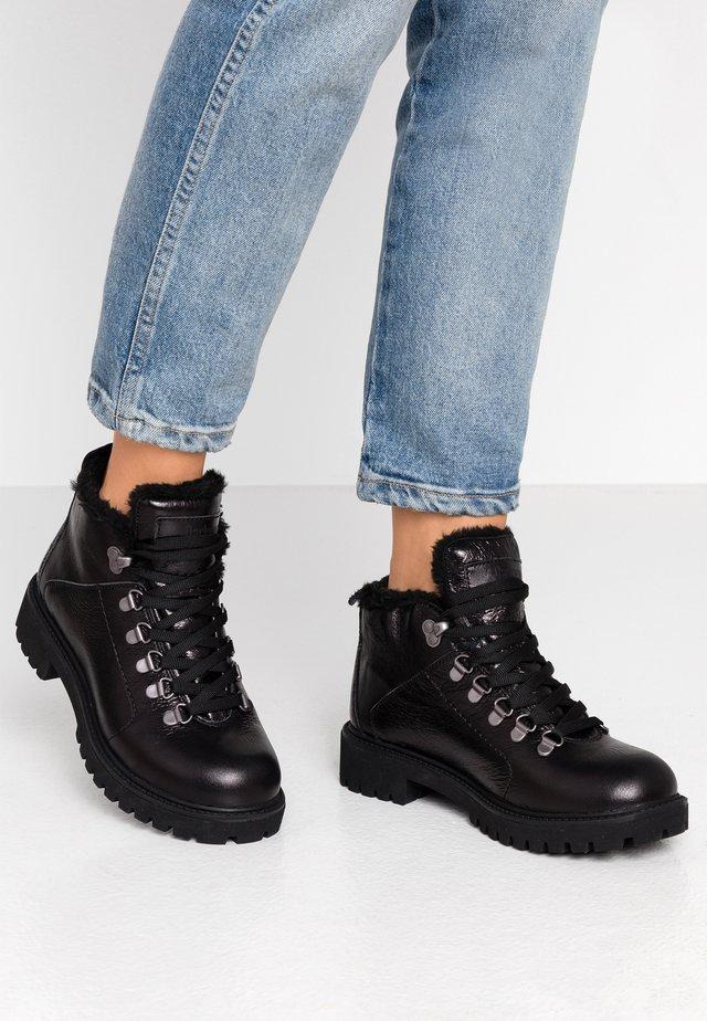 Ankelboots - glossy black