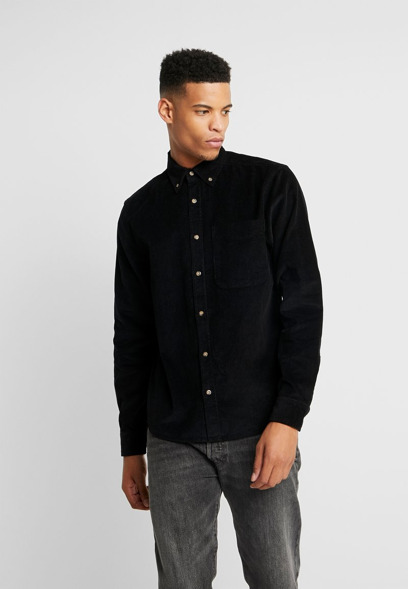 D-STRUCT - CLIFTON - Camisa - black