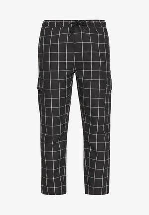 BEGAZI - Cargo trousers - black