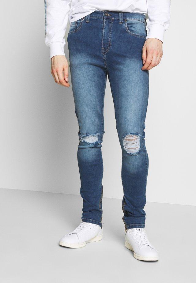 POPLAR - Jeans Skinny Fit - mid blue