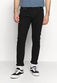 D-STRUCT - PHAEDRA - Džíny Slim Fit - black - 0