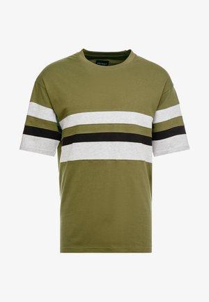 CALGER  - T-Shirt print - khaki