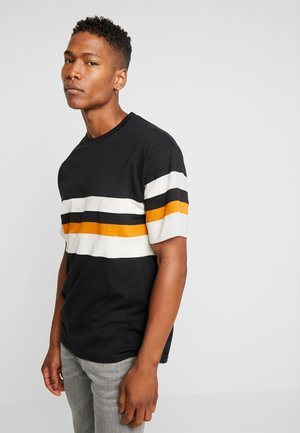 CALGER  - Print T-shirt - black