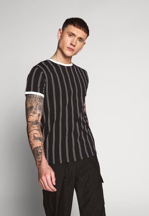 DEVON - T-shirt med print - black