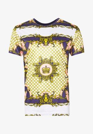 ALBERT - T-shirt med print - ecru