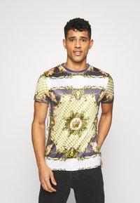 D-STRUCT - ALBERT - T-shirts print - ecru - 0
