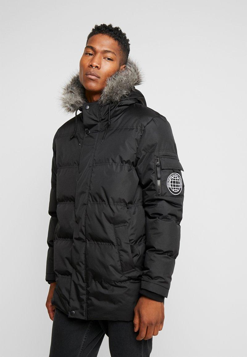 D-STRUCT - THORIUM - Winter coat - black