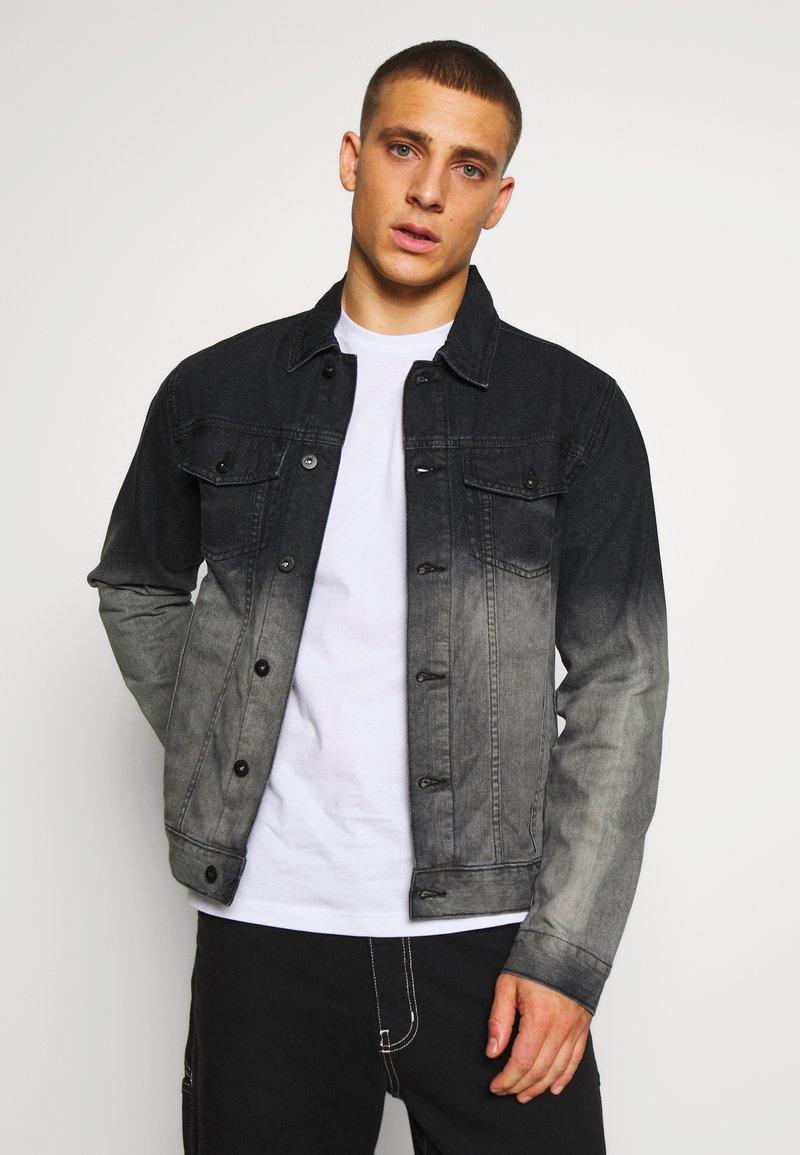 D-STRUCT - ARIES  - Denim jacket - grey wash