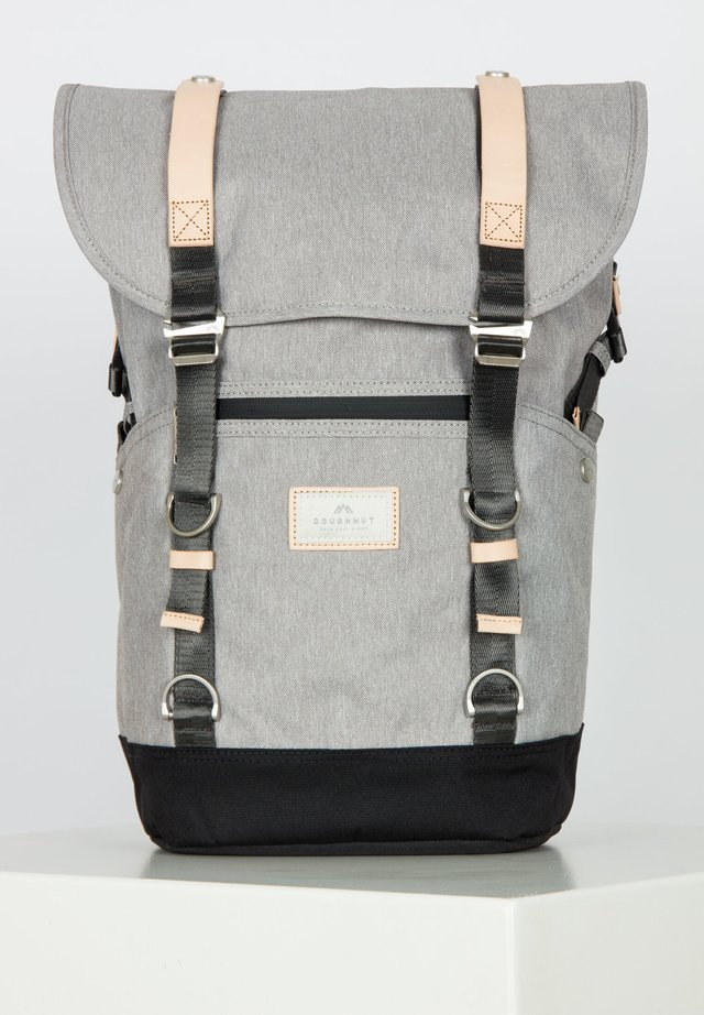DENVER - Rucksack - light grey/black