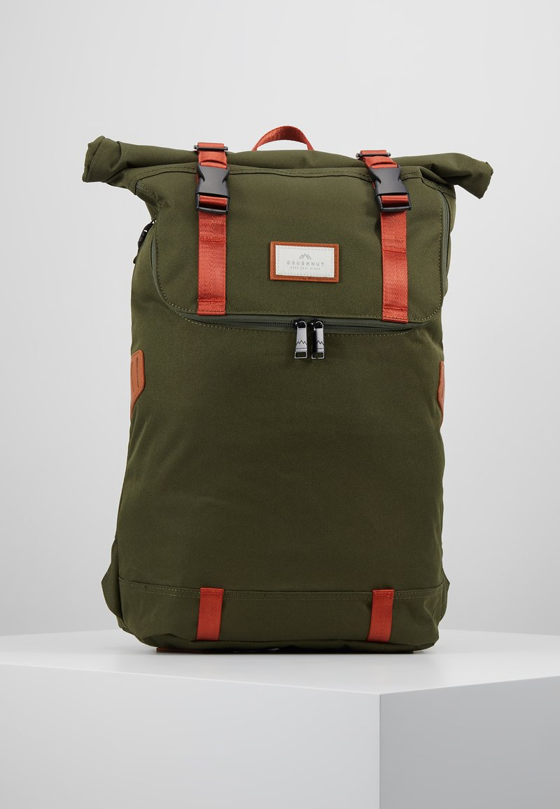 Doughnut - CHRISTOPHER - Tagesrucksack - army with rust straps