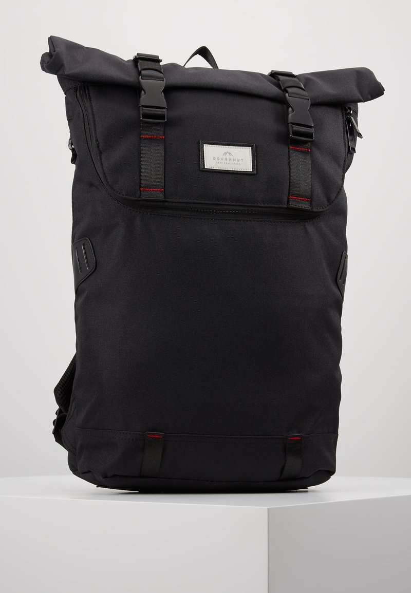 Doughnut - CHRISTOPHER - Tagesrucksack - black/red
