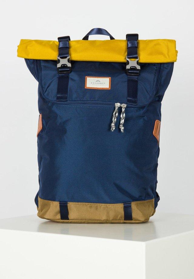 CHRISTOPHER - Rucksack - navy/mustard