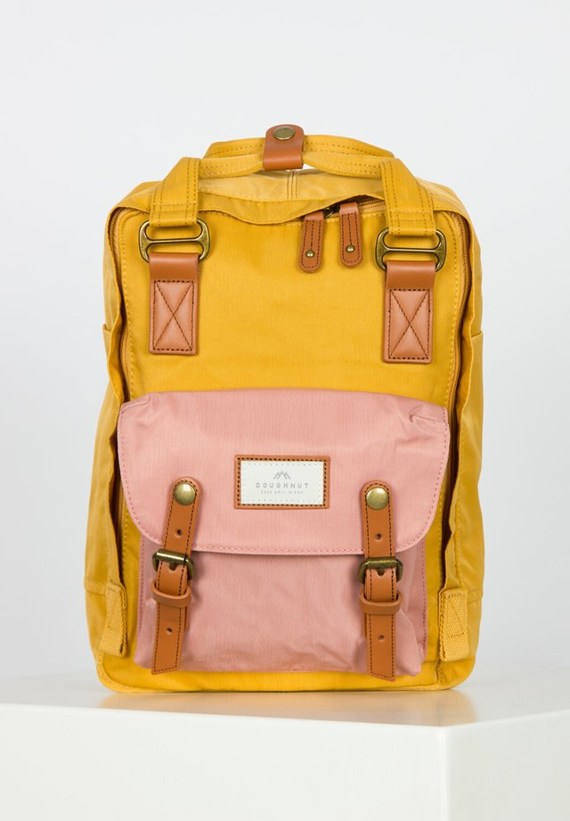 Rucksack - yellow x rose