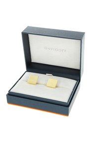 DAVIDOFF - Cufflinks - gold-coloured - 3