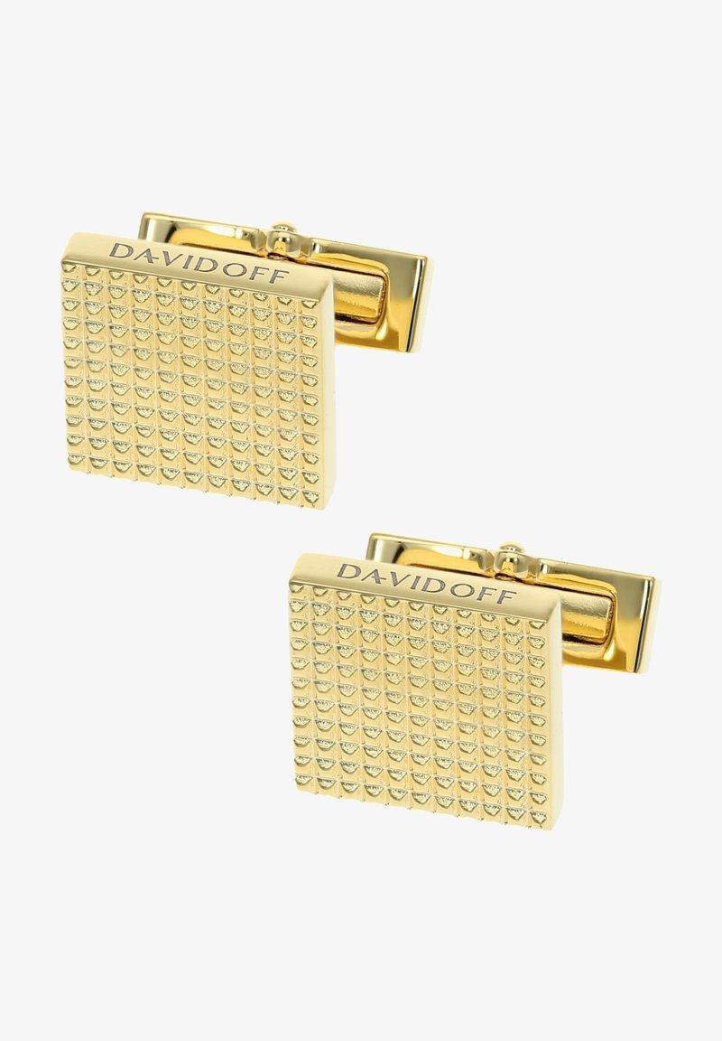 DAVIDOFF - Cufflinks - gold-coloured