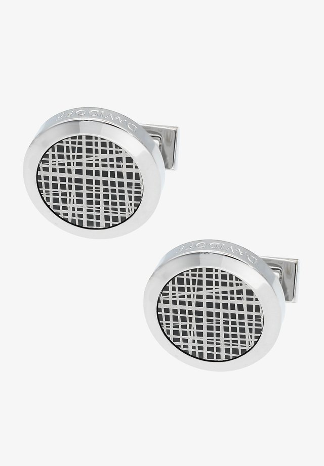 Cufflinks - rhodium