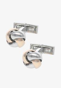 DAVIDOFF - Cufflinks - rhodium/rose gold - 0