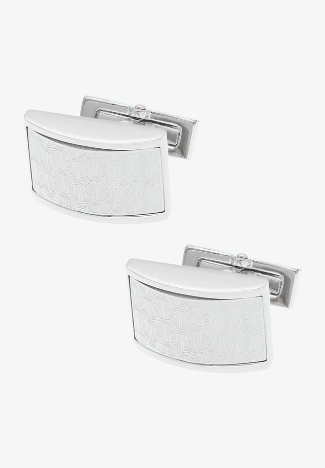 ZINO  - Cufflinks - rhodium-coloured