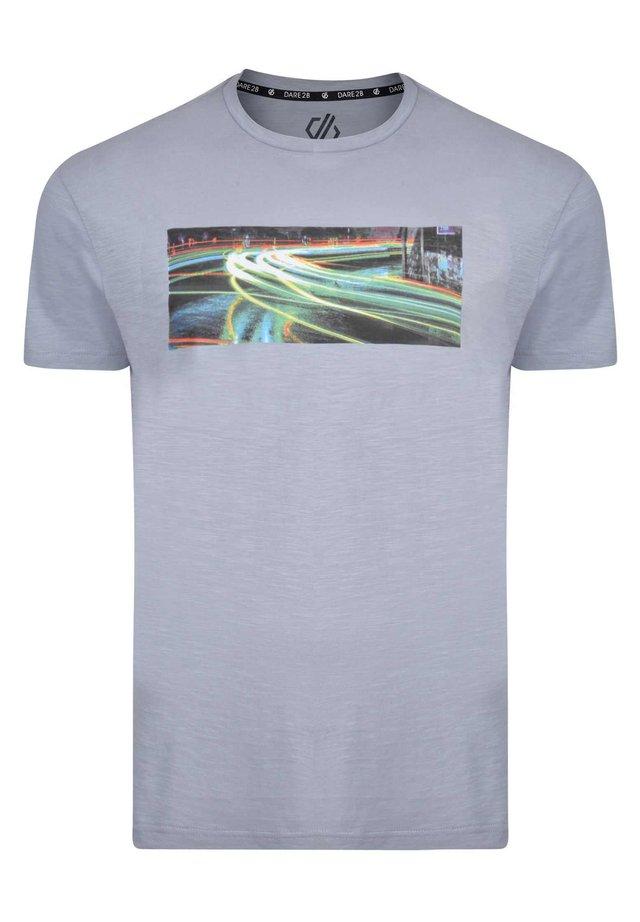 CONVERGE  - Print T-shirt - gravity grey