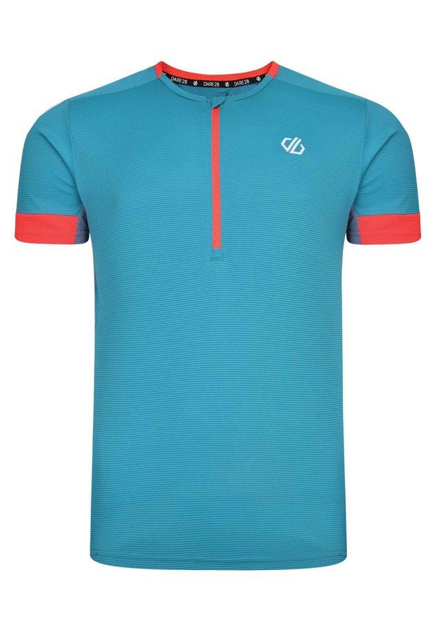 EQUALL  - Print T-shirt - light blue