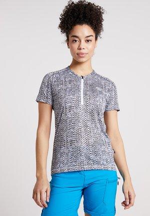 THEORY - T-shirt imprimé - black/white