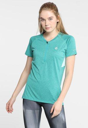 TRIBE - T-Shirt print - caribbean green