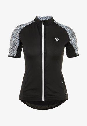 EXPOUND  - Camiseta estampada - black/white