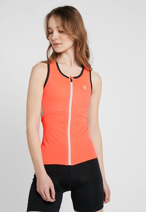 ILLUSTRATE VEST - Top - fiery coral