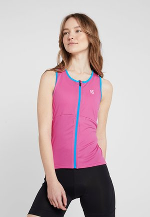 ILLUSTRATE VEST - Topper - cyber pink