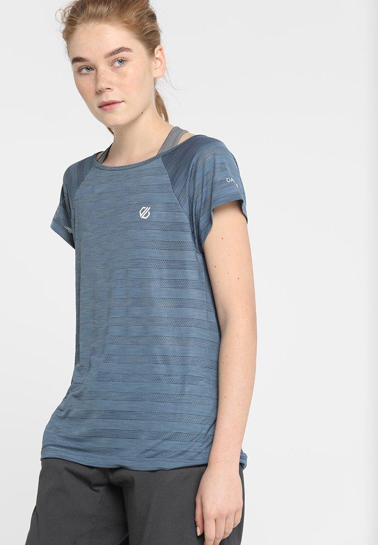 Dare 2B - EFFICIENCY TEE - T-Shirt print - meteor grey