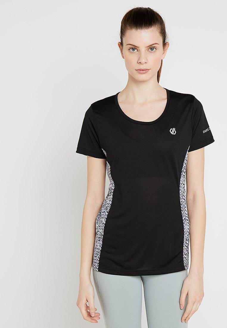 Dare 2B - KINDRED TEE - T-Shirt print - black/white