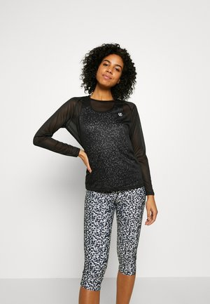 PRAXIS TOP - Sports shirt - black