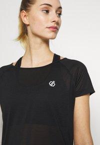 Dare 2B - DEFY TEE - Print T-shirt - black - 3