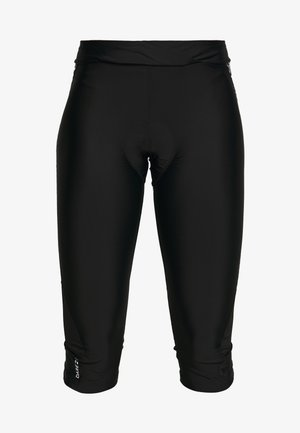 WORLDLY CAPRI - 3/4 Sporthose - black/white