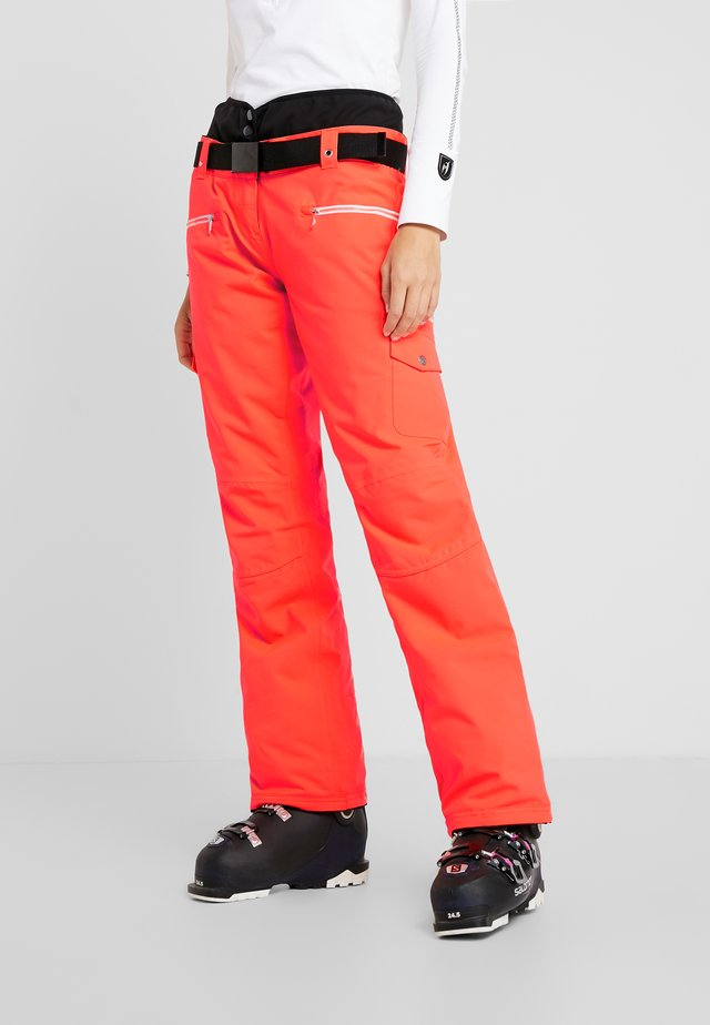 LIBERTY PANT - Skibukser - fiery coral