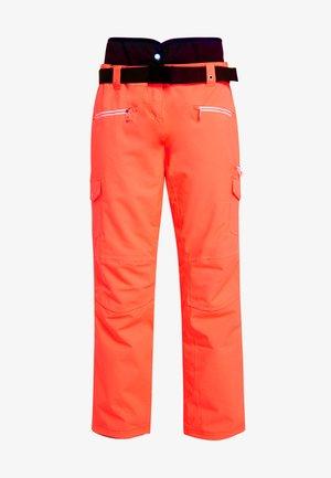 LIBERTY PANT - Pantaloni da neve - fiery coral