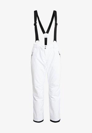 EFFUSED PANT - Pantalon de ski - white