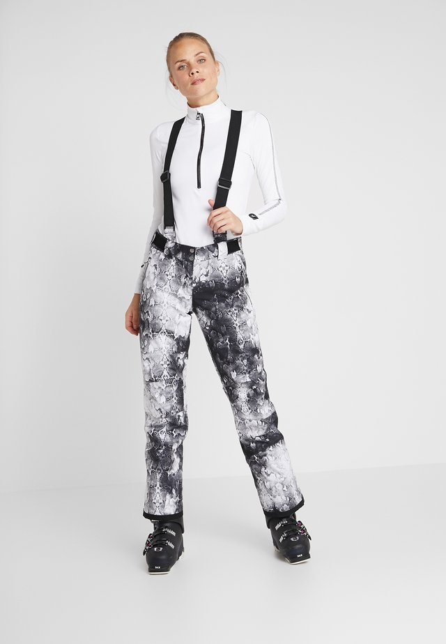 EFFUSED PANT - Schneehose - monochrome