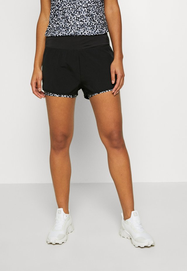 OUTRUN - Friluftsshorts - black