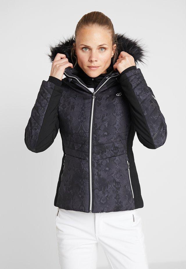 ICEGLAZE JACKET - Lyžařská bunda - black
