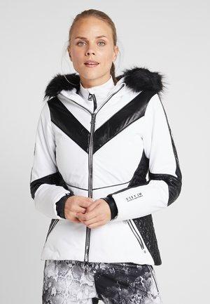 EMPEROR SKI - Skijakke - white/black