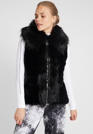 ZARINA GILET - Waistcoat - black