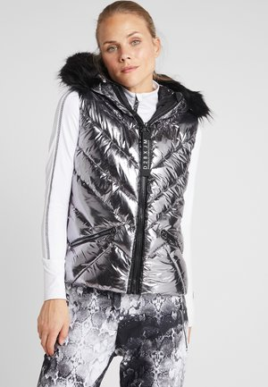 MAJESTY GILET - Smanicato - chrome